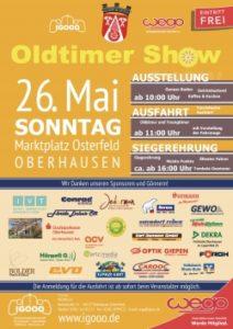 Die 16. Osterfelder Oldtimershow findet am 26. Mai 2019